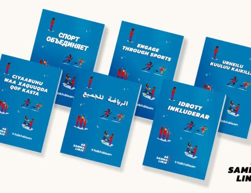 Idrott inkluderar -guiden på olika språk